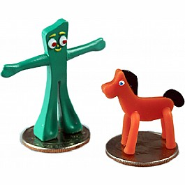 Worlds Smallest Gumby & Pokey