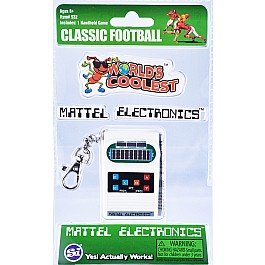Worlds Coolest Mattel Electronic Games Keychain-Football