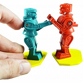 Worlds Smallest Rock 'Em Sock 'Em Robots