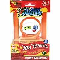 Worlds Smallest Hot Wheels Stunt Action Set (Incl Loop & 1 Car)