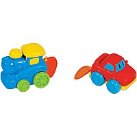 Pull String Mini Vehicles