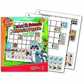 Animal Friends Matrix Puzzle