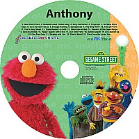 Elmo & Friends Personalized CD