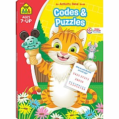 Codes & Puzzles Deluxe Edition Activity Zone Workbook