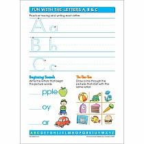 Alphabet Fun! Write & Reuse Workbook 4-6