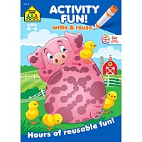 Activity Fun! Write & Reuse Workbook