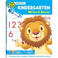 Kindergarten Write & Reuse Workbook