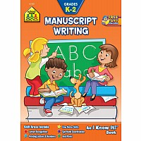 Manuscript Writing K-2 Is Full of Writing Practice