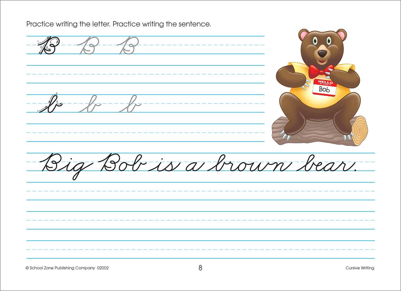Third And Fourth Grade Workbooks Cursive Writing Raff And Friends