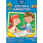 Addition & Subtraction 1-2 Workbook