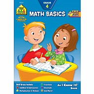 Math Basics 4 Workbook