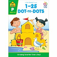1-25 Dot-to-Dots Workbook
