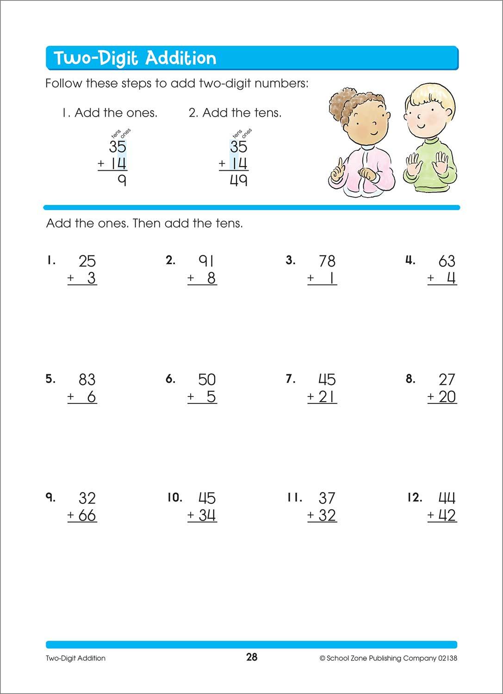 Second Grade Workbooks   Educational Basics - Raff and Friends