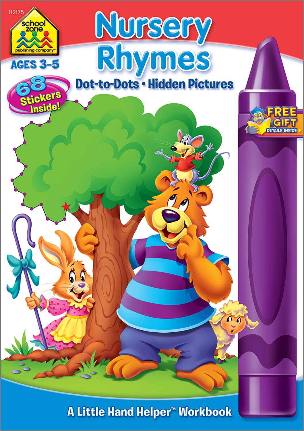 Nursery Rhymes Dot To Dots Hidden Pictures Workbook Kool Child