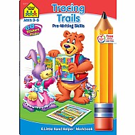 Tracing Trails Pre-Writing Skills Workbook