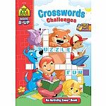 Crosswords Challenges Activity Zone Workbook