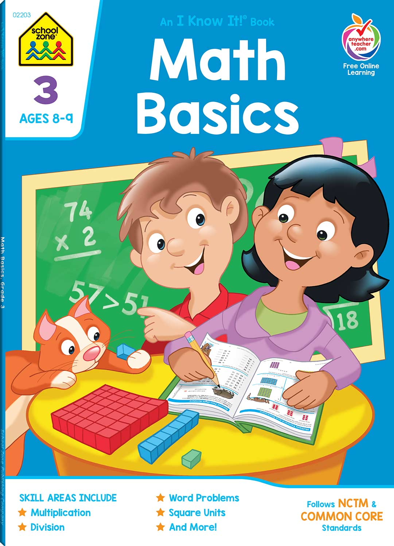 Workbooks big third grade workbook : Third Grade Workbooks - Math Basics Deluxe Edition - Fun Stuff Toys
