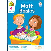 Math Basics 4 Deluxe Edition Workbook