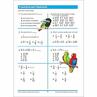 Fourth Grade Workbooks - Math Basics Deluxe Edition