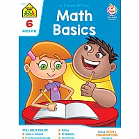 Math Basics 6 Deluxe Edition Workbook