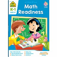 Math Readiness K-1 Deluxe Edition Workbook