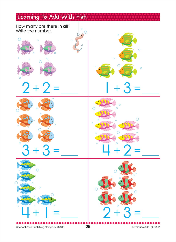 Math Readiness K-1 Deluxe Edition Workbook - Kool & Child