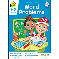 1st-2nd | Word Problems Workbook 64pgs