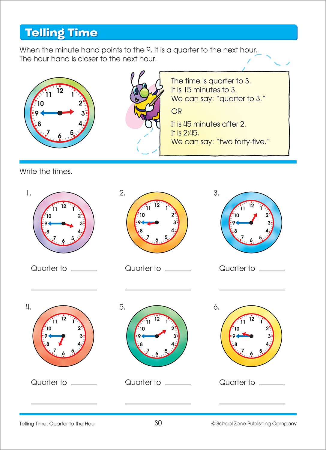 Time, Money & Fractions 1-2 Canadian Edition Deluxe Workbook ...