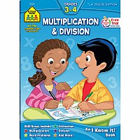 Multiplication & Division 3-4 Deluxe Edition Workbook