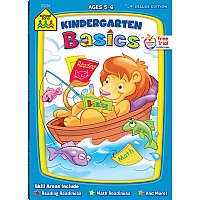 Kindergarten Basics Deluxe Edition Workbook