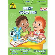 Sight Word Fun 1 Deluxe Edition Workbook