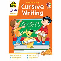 Cursive Writing 3-4 Deluxe Edition Workbook
