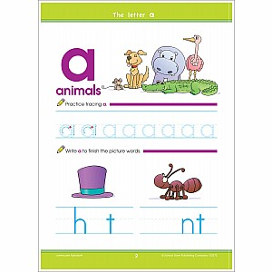 Lowercase Alphabet Deluxe Edition Workbook