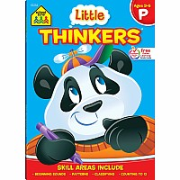 Little Thinkers Preschool Deluxe Edition Workbook