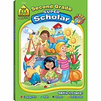 Second Grade Super Scholar Workbook