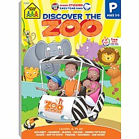 Discover the Zoo Preschool Adventure Workbook