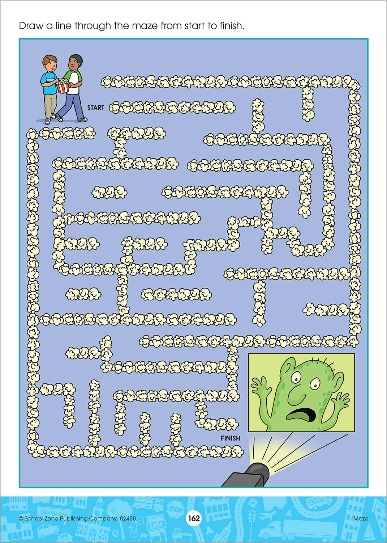 Explore the City Kindergarten Adventure Workbook - Kool & Child