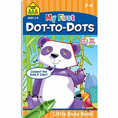 My First Dot-To-Dots Little Busy Book
