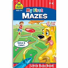 My First Mazes Little Busy Book