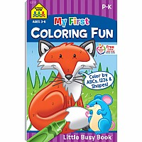 Little Busy Book: My First Coloring Fun (PreK-K)