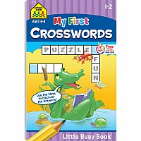 Little Busy Book: My First Crosswords (1st-2nd)