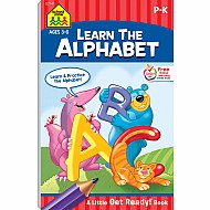 Learn The Alphabet! Little Get Ready! Book