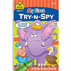 My First Try-n-Spy Little Busy Book