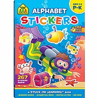 Alphabet Stickers Workbook