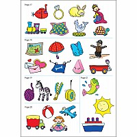 Get Ready For School! Stickers Workbook