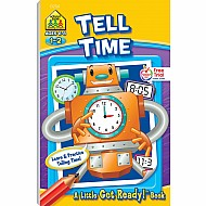 Tell Time Little Get Ready! Book
