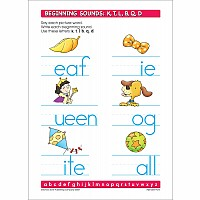 Alphabet Fun! Write & Reuse Workbook