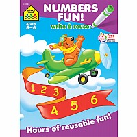 Numbers Fun! Write & Reuse Workbook