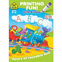 Printing Fun! Write & Reuse Workbook