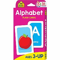 Alphabet Flash Cards | Letter Flash Cards by School Zone